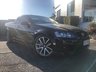 2011 Holden Ute VE II SS V Black 6 Speed Sports Automatic Utility.