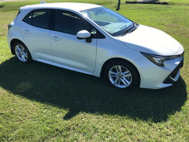 Used Toyota Corolla Mzea12R Ascent Sport, 2018 Toyota Corolla Mzea12R Ascent Sport Crystal Pearl 10 Speed Constant Variable Hatchback