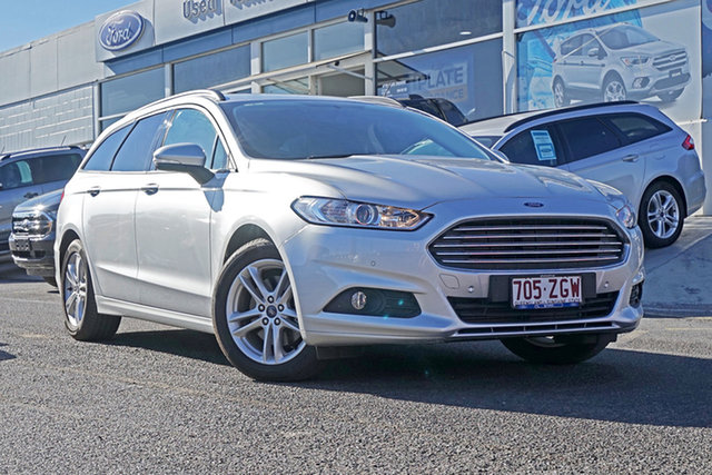 Used Ford Mondeo MD 2018.25MY Ambiente, 2017 Ford Mondeo MD 2018.25MY Ambiente Silver 6 Speed Sports Automatic Dual Clutch Wagon