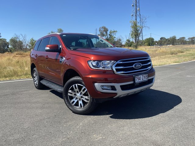 Used Ford Everest UA II 2019.00MY Trend 4WD, 2019 Ford Everest UA II 2019.00MY Trend 4WD Sunset 6 Speed Sports Automatic Wagon