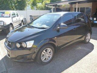 2013 Holden Barina TM MY13 CD Black 5 Speed Manual Hatchback.