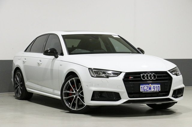 Used Audi S4 B9 MY18 3.0 TFSI Quattro Tiptronic, 2018 Audi S4 B9 MY18 3.0 TFSI Quattro Tiptronic White 8 Speed Automatic Tiptronic Sedan