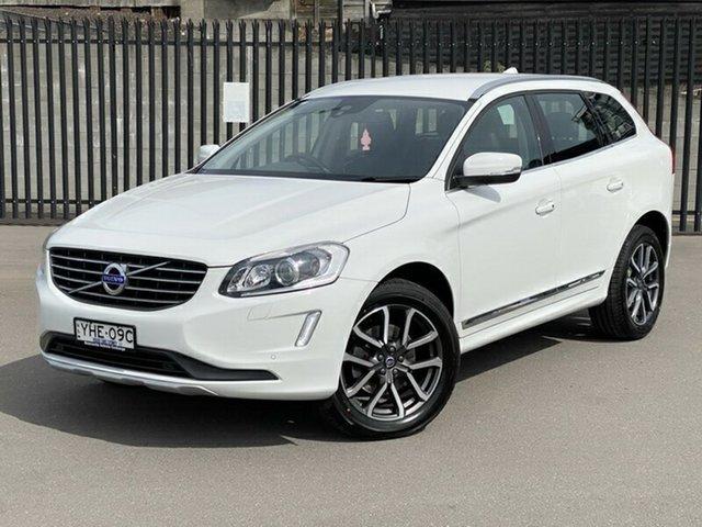 Used Volvo XC60 DZ MY17 T5 Geartronic AWD Luxury, 2017 Volvo XC60 DZ MY17 T5 Geartronic AWD Luxury White 8 Speed Sports Automatic Wagon