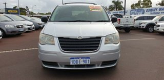 2009 Chrysler Grand Voyager RT 5th Gen MY08 LX Silver 6 Speed Automatic Wagon.