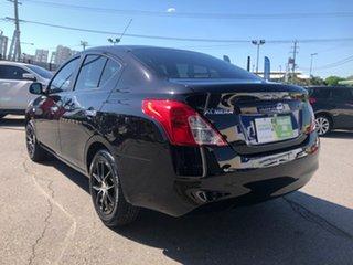 2013 Nissan Almera N17 ST Black 4 Speed Automatic Sedan