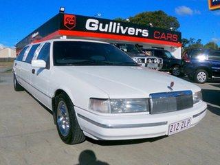 1990 Ford Fairlane NAII White 4 Speed Automatic Sedan.