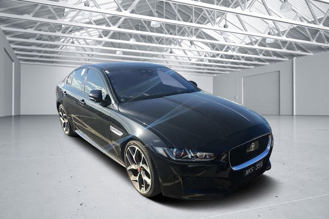 Used Jaguar XE MY17 S, 2016 Jaguar XE MY17 S Black 8 Speed Automatic Sedan