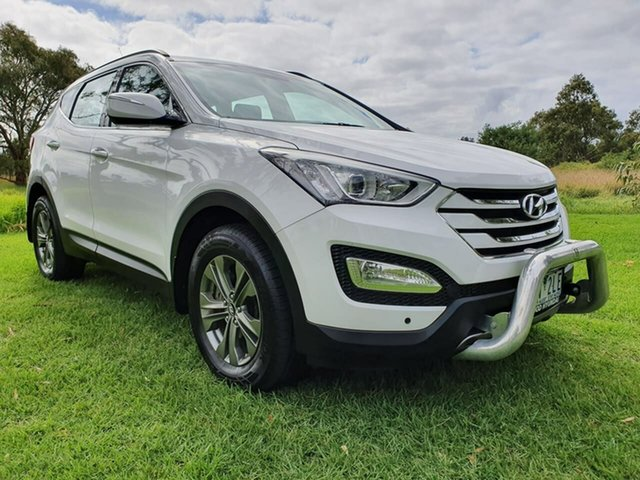 Used Hyundai Santa Fe  Active, 2014 Hyundai Santa Fe DM2 Active White Sports Automatic Wagon