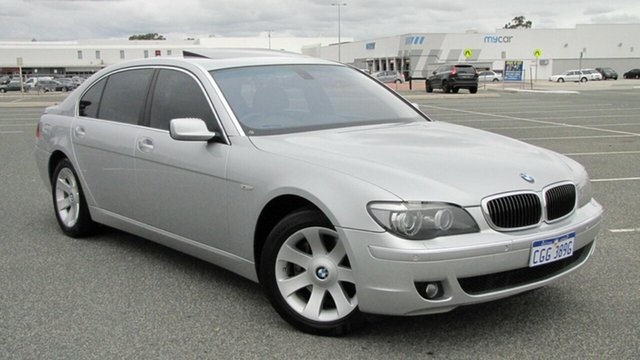 Used BMW 7 Series E66 MY07 740Li Steptronic, 2006 BMW 7 Series E66 MY07 740Li Steptronic Silver 6 Speed Sports Automatic Sedan