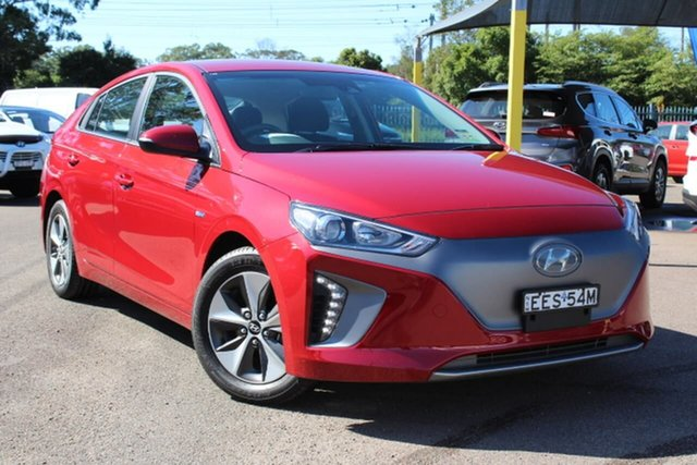 Used Hyundai Ioniq AE.2 MY19 electric Elite, 2018 Hyundai Ioniq AE.2 MY19 electric Elite Red 1 Speed Reduction Gear Fastback