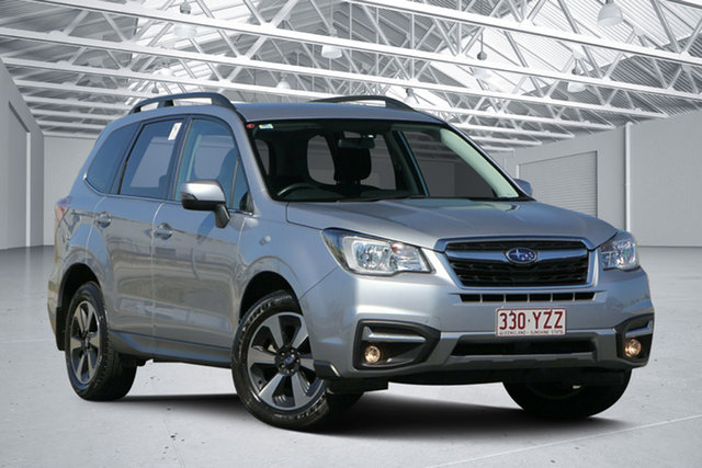 Used Subaru Forester MY18 2.5I-L, 2018 Subaru Forester MY18 2.5I-L Ice Silver Continuous Variable Wagon