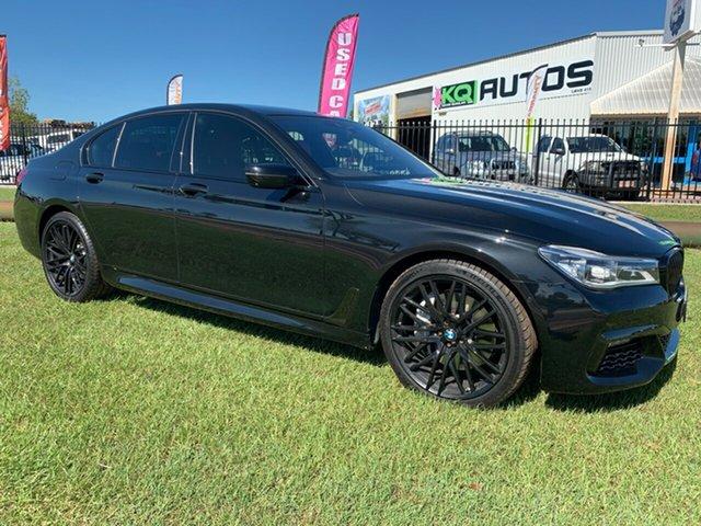 Used BMW 7 Series G12 750Li Steptronic, 2016 BMW 7 Series G12 750Li Steptronic Black 8 Speed Sports Automatic Sedan