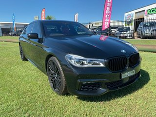2016 BMW 7 Series G12 750Li Steptronic Black 8 Speed Sports Automatic Sedan.