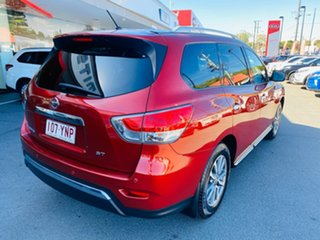 2013 Nissan Pathfinder R52 MY14 ST X-tronic 2WD Red 1 Speed Constant Variable Wagon.