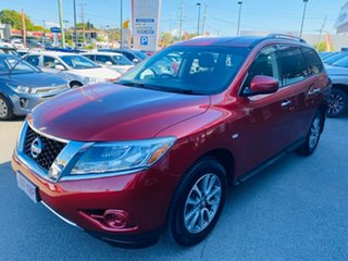 2013 Nissan Pathfinder R52 MY14 ST X-tronic 2WD Red 1 Speed Constant Variable Wagon