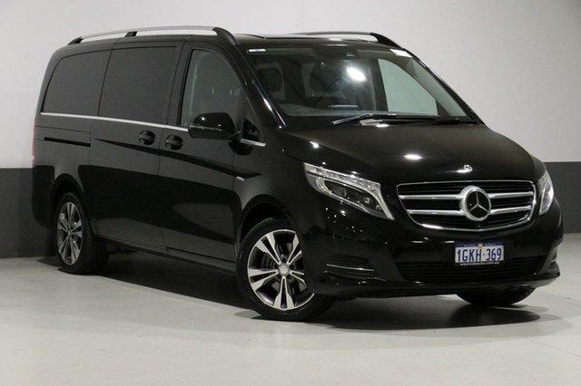 Used Mercedes-Benz V250d 447 MY17 Avantgarde MWB, 2017 Mercedes-Benz V250d 447 MY17 Avantgarde MWB Black 7 Speed Automatic Wagon