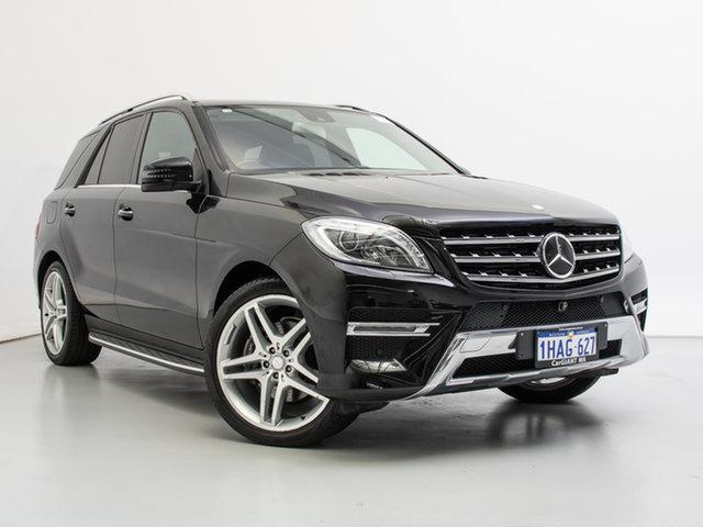 Used Mercedes-Benz ML350 CDI BlueTEC 166 MY14 4x4, 2014 Mercedes-Benz ML350 CDI BlueTEC 166 MY14 4x4 Black 7 Speed Automatic Wagon