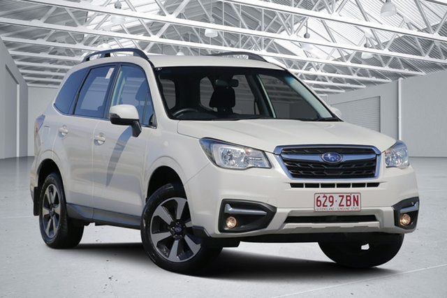 Used Subaru Forester MY18 2.5I-L, 2018 Subaru Forester MY18 2.5I-L Crystal White Pearl Continuous Variable Wagon