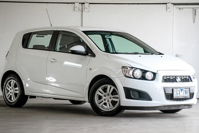 Used Holden Barina TM MY16 CD, 2015 Holden Barina TM MY16 CD White 6 Speed Automatic Hatchback