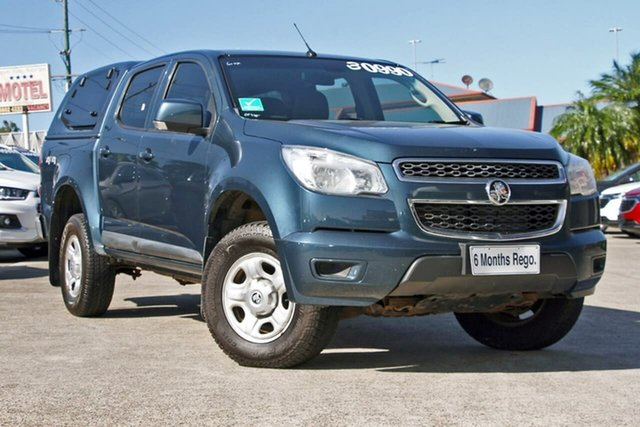 Used Holden Colorado RG MY15 LS Crew Cab, 2015 Holden Colorado RG MY15 LS Crew Cab Blue 6 Speed Sports Automatic Utility