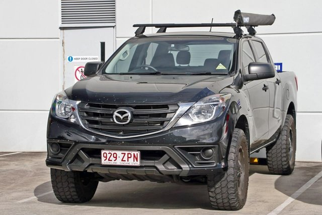 Used Mazda BT-50 UR0YG1 XT, 2018 Mazda BT-50 UR0YG1 XT Black 6 Speed Sports Automatic Utility
