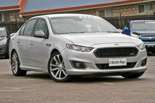 Used Ford Falcon FG X XR6 Turbo, 2016 Ford Falcon FG X XR6 Turbo Silver 6 Speed Sports Automatic Sedan