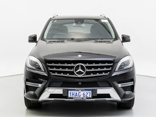 2014 Mercedes-Benz ML350 CDI BlueTEC 166 MY14 4x4 Black 7 Speed Automatic Wagon.