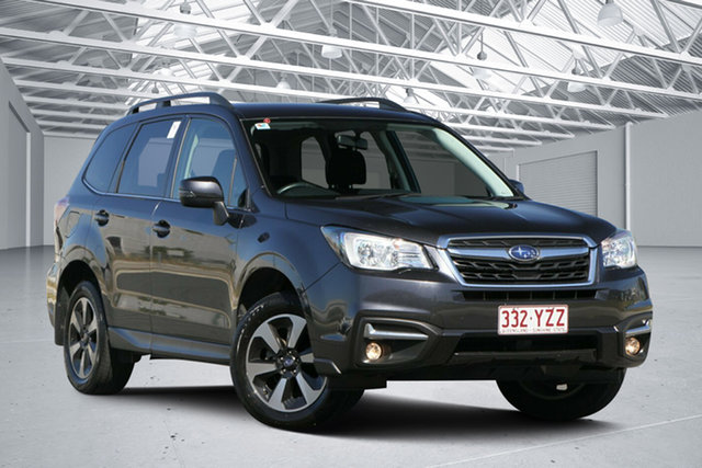 Used Subaru Forester MY18 2.5I-L, 2017 Subaru Forester MY18 2.5I-L Dark Grey Continuous Variable Wagon