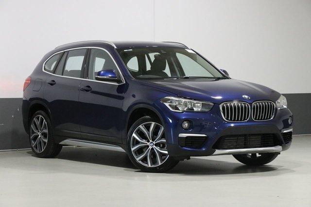 Used BMW X1 F48 MY18 xDrive 25I, 2018 BMW X1 F48 MY18 xDrive 25I Blue 8 Speed Automatic Wagon