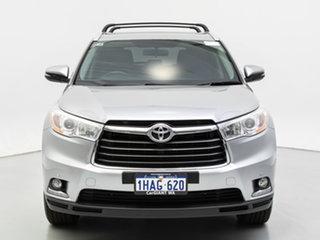2015 Toyota Kluger GSU55R GXL (4x4) Silver 6 Speed Automatic Wagon.