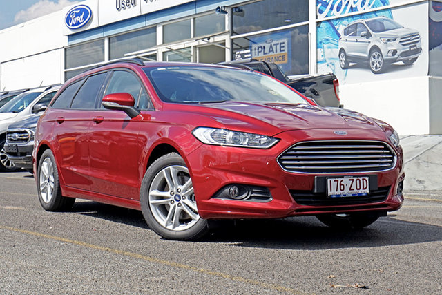 Used Ford Mondeo MD 2018.75MY Ambiente PwrShift, 2018 Ford Mondeo MD 2018.75MY Ambiente PwrShift Ruby Red 6 Speed Sports Automatic Dual Clutch Wagon
