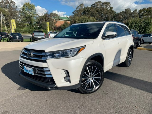 Used Toyota Kluger Grande Goulburn, 2018 Toyota Kluger Grande White Sports Automatic Wagon