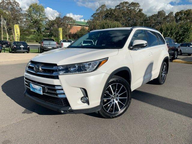 Used Toyota Kluger  Grande, 2018 Toyota Kluger Grande White Sports Automatic Wagon