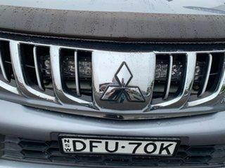 2016 Mitsubishi Triton MQ MY16 GLS Grey 6 Speed Manual Dual Cab Utility