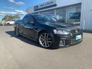 2012 Holden Ute SS - V Black Sports Automatic Utility - Extended Cab.