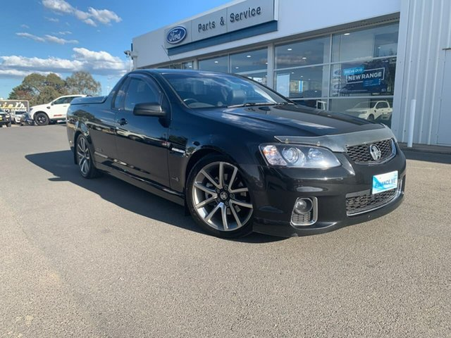 Used Holden Ute  , 2012 Holden Ute SS - V Black Sports Automatic Utility - Extended Cab