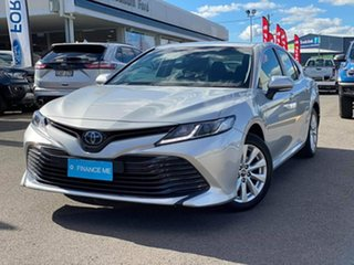 2018 Toyota Camry Ascent Silver Constant Variable Sedan