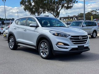 2018 Hyundai Tucson Active X Silver Sports Automatic Wagon.