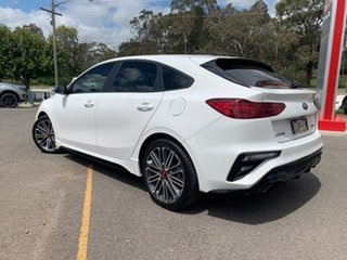 2019 Kia Cerato Hatch GT Clear White Sports Automatic Dual Clutch Hatchback