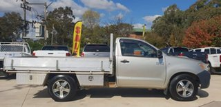 2006 Toyota Hilux KUN16R MY05 SR Silver 5 Speed Manual Cab Chassis - Single Cab.