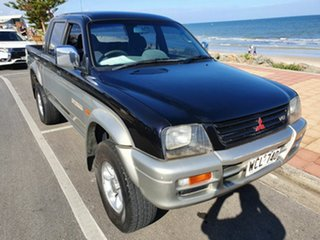 1998 Mitsubishi Triton MK GLX Double Cab 5 Speed Manual Utility