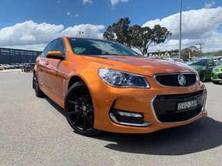 2017 Holden Commodore VF II MY17 SS Orange 6 Speed Manual Sedan.