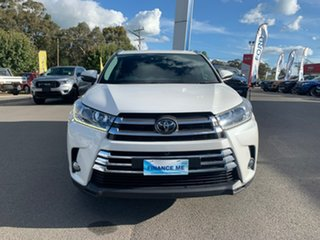 2018 Toyota Kluger Grande White Sports Automatic Wagon.