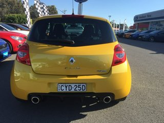 2012 Renault Clio Sport 200 - Cup Yellow Manual Hatchback