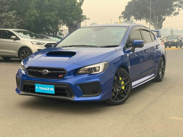 Used Subaru WRX  , 2017 Subaru WRX STI - spec.R Blue Manual Sedan