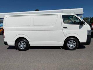 2016 Toyota HiAce White Automatic Van.