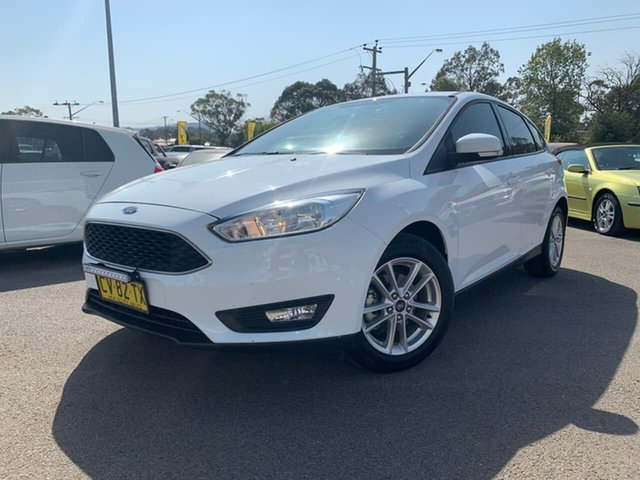 Used Ford Focus  Trend, 2017 Ford Focus Trend White Automatic Hatchback