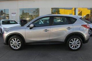 2014 Mazda CX-5 KE1031 MY14 Grand Touring SKYACTIV-Drive AWD Silver 6 Speed Sports Automatic Wagon.