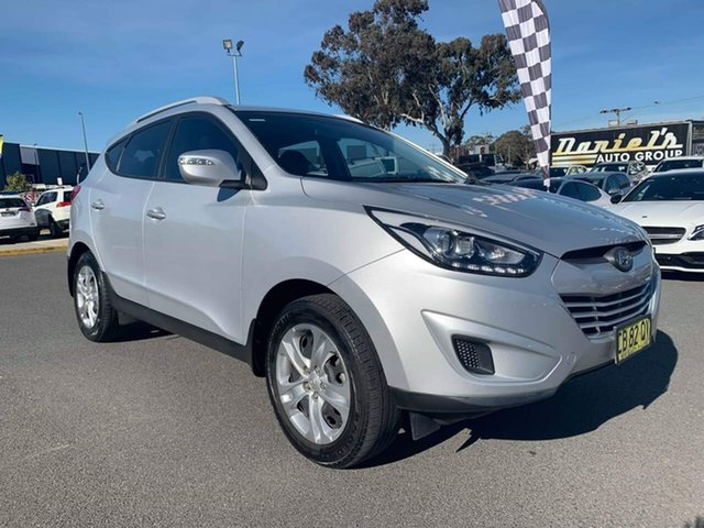 Used Hyundai ix35  Active, 2014 Hyundai ix35 Active Silver Sports Automatic Wagon