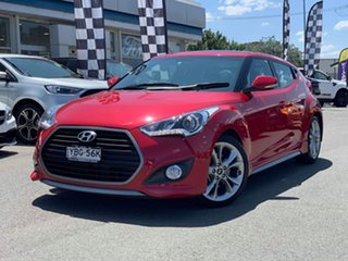 2015 Hyundai Veloster SR - Turbo Red Sports Automatic Dual Clutch Hatchback